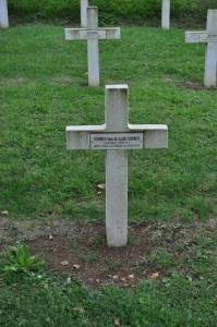 das Grab von Henri Alain-Fournier